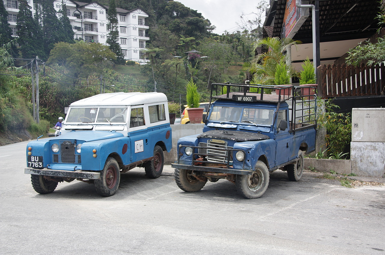 100's of landrovers round here.