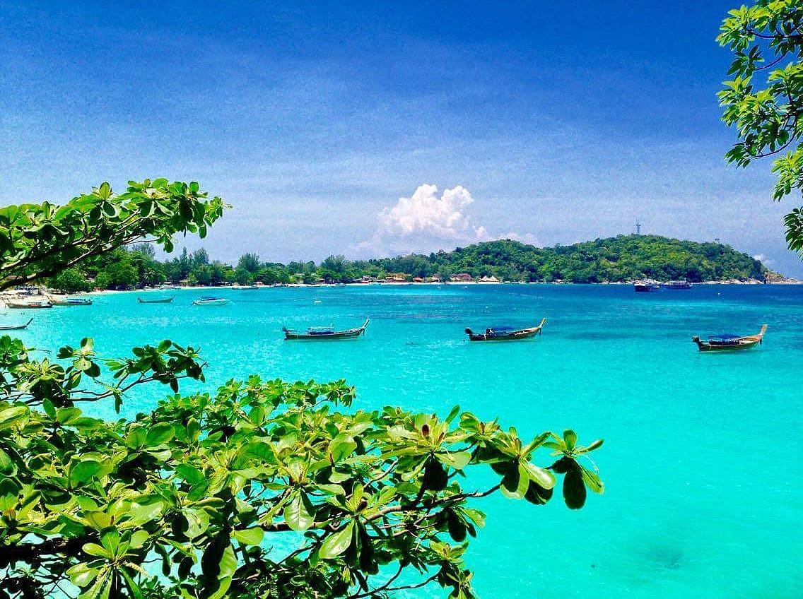 Pattaya bay.