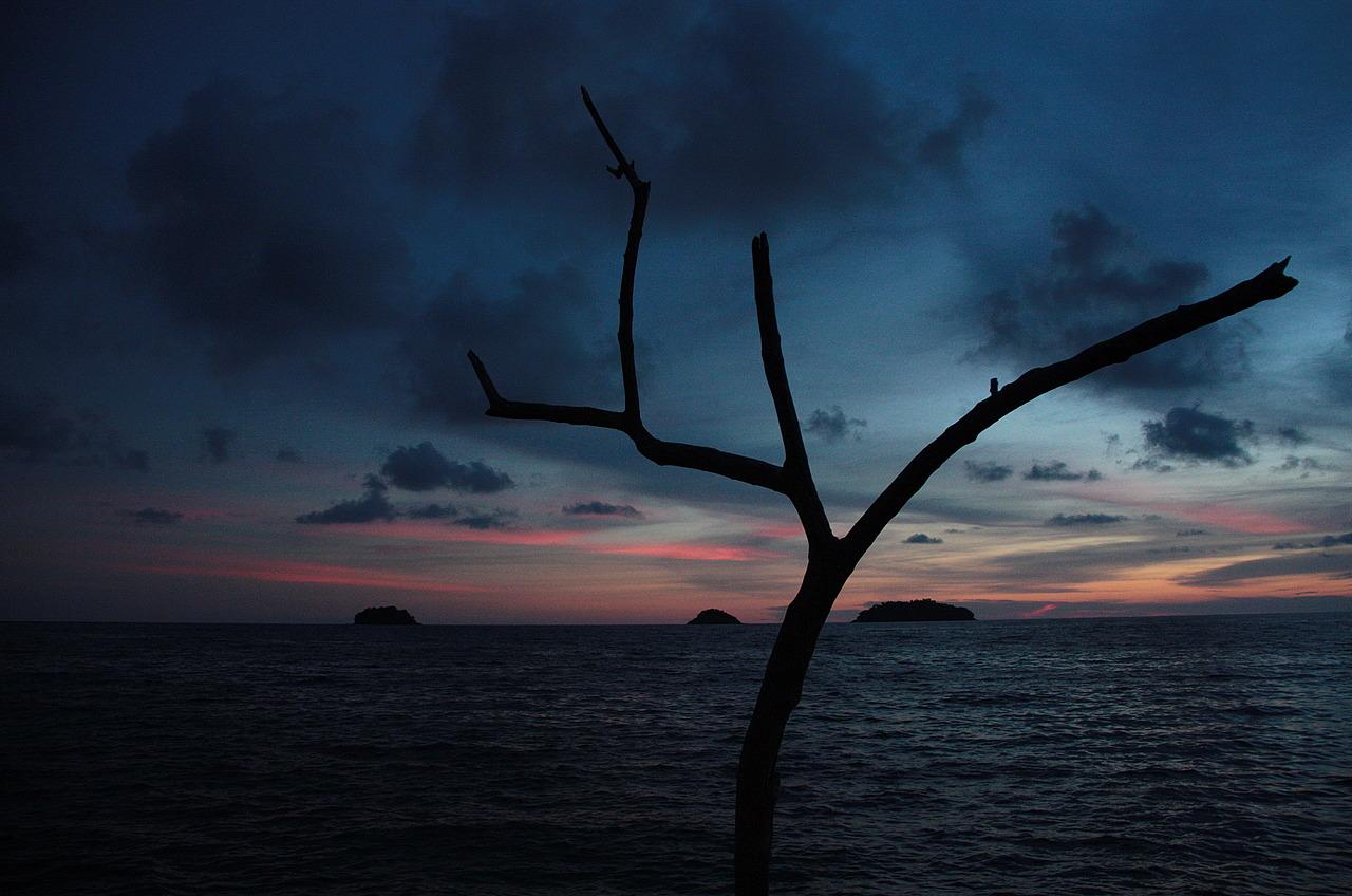 Sun set at Kai Bae