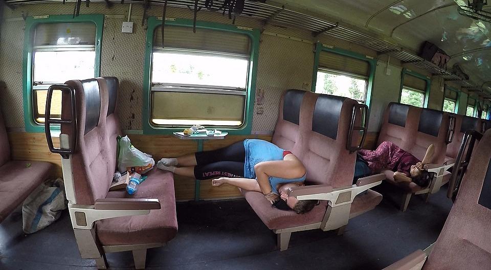 Sleeper carriage!