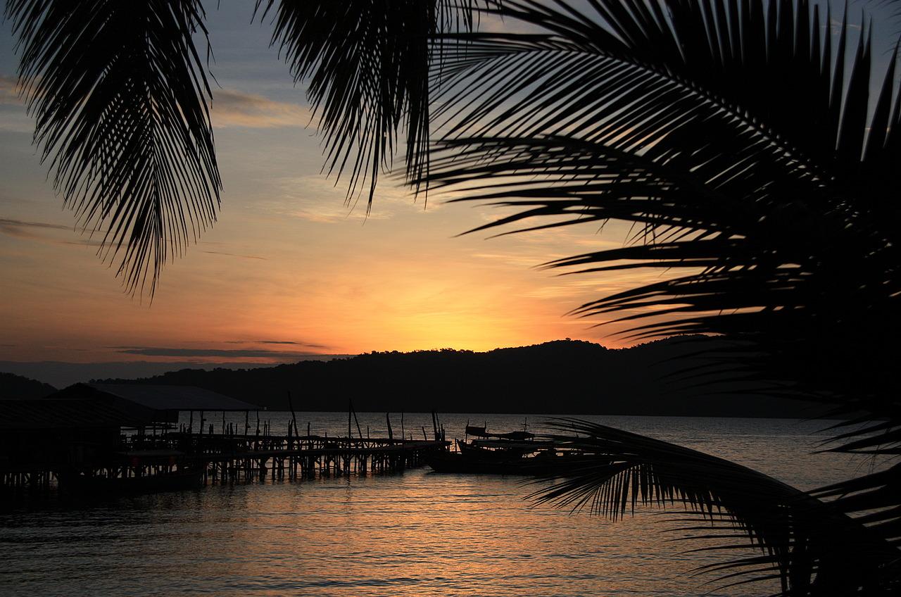 Sun rise Koh Rong Samloen