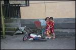 Kids at Kintamani village near Mt Batur