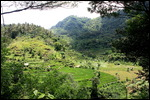 Valleys on the ride over to Canggu
