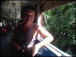 Riding the Yangon circular line