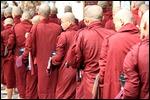 Monks at Mahagandaryone Monastery