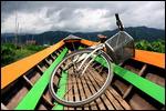 Bike across the lake