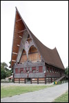 Huge Batak churrch