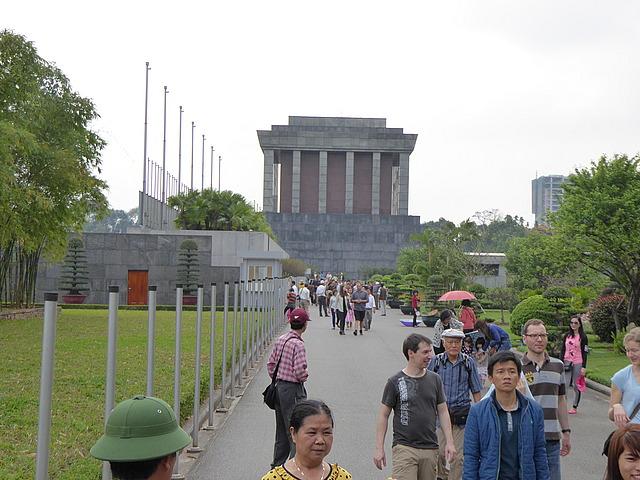 HCM'S mausoleum