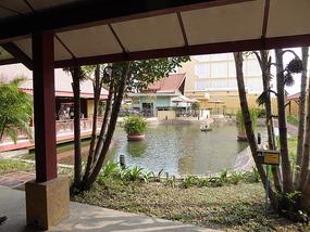 Phnom Penh arrivals lounge