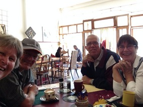 Us & Daniels at Mezzies for Mothers Day Brekky