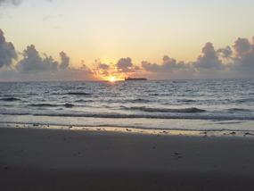 Sunrise at Cape Trib