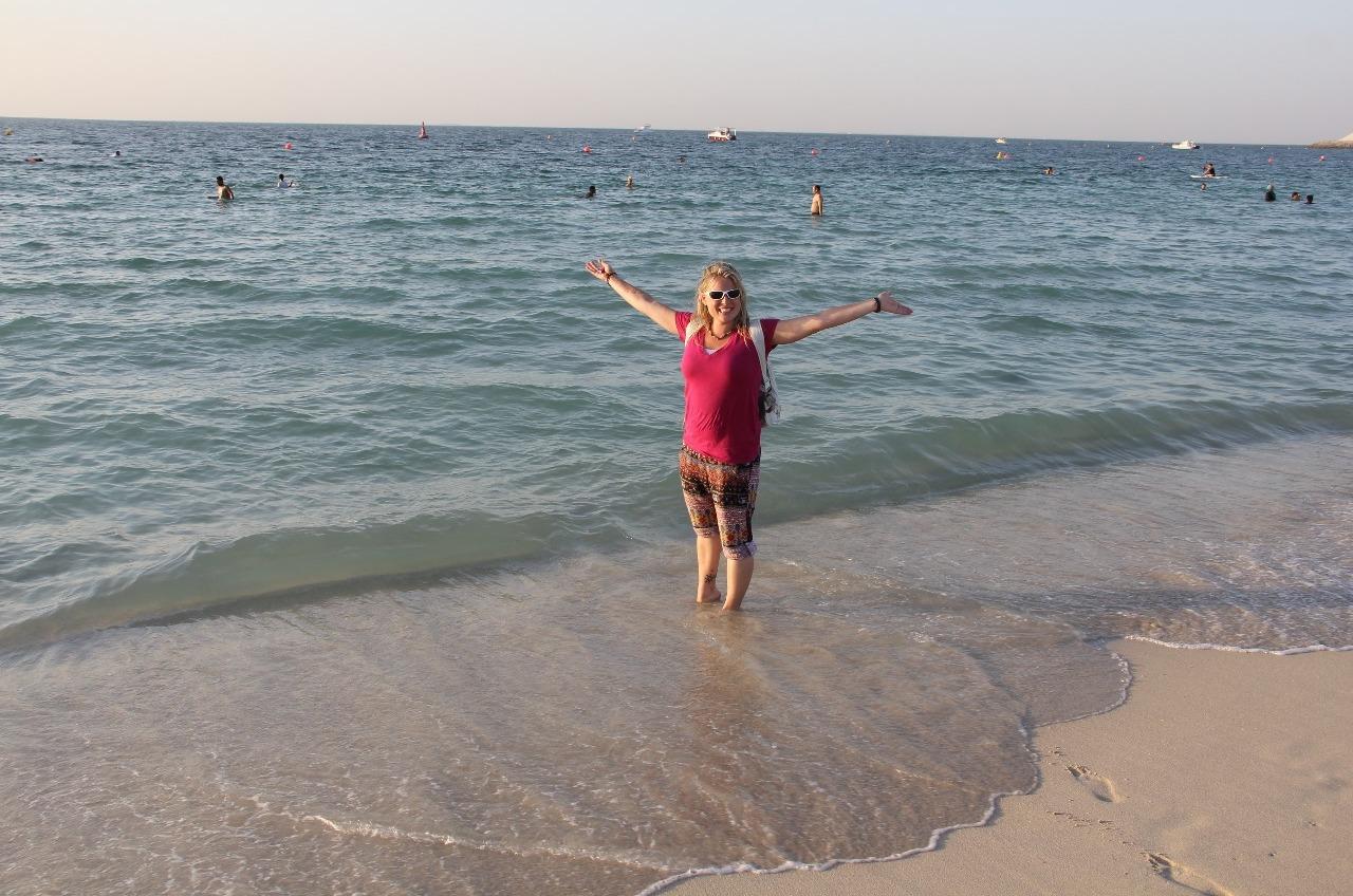 In the Ariabian Gulf!