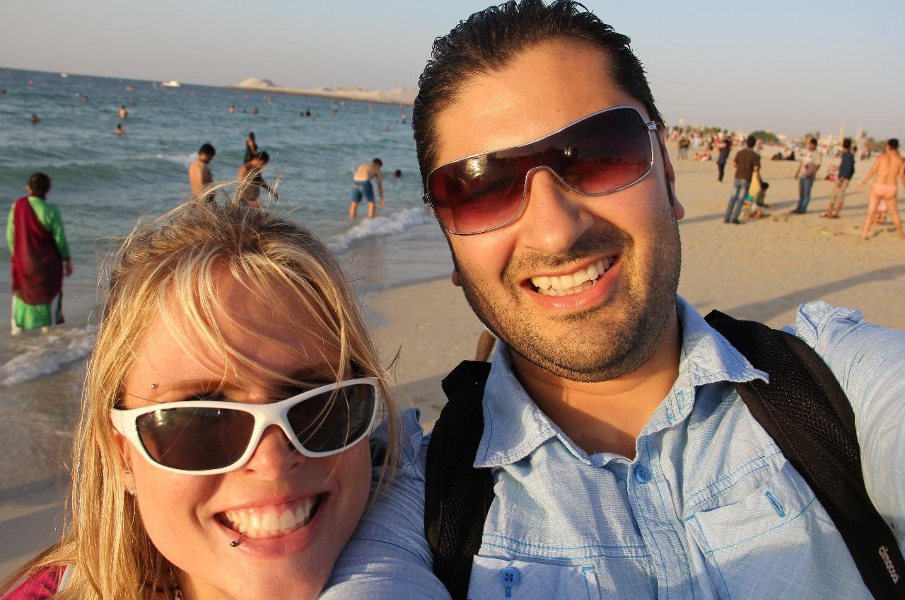 Selfie on the beach!