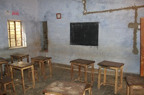 Classroom at the school