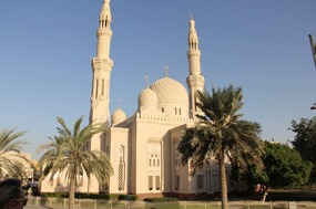 One of the most visited Mosques in Dubai