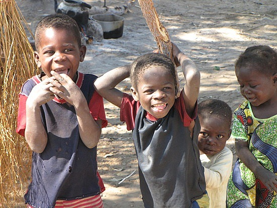 Happy kids, Zambia.