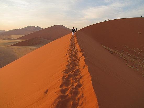 Dune 45, Sossusvlei, Namibia.