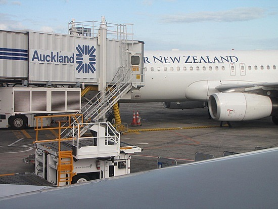 Bye Auckland see you in 2 months time