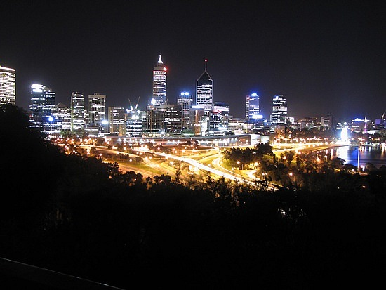 Downtown Perth taken from ...