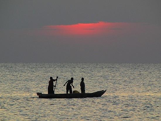 Sunset over Sunset Beach