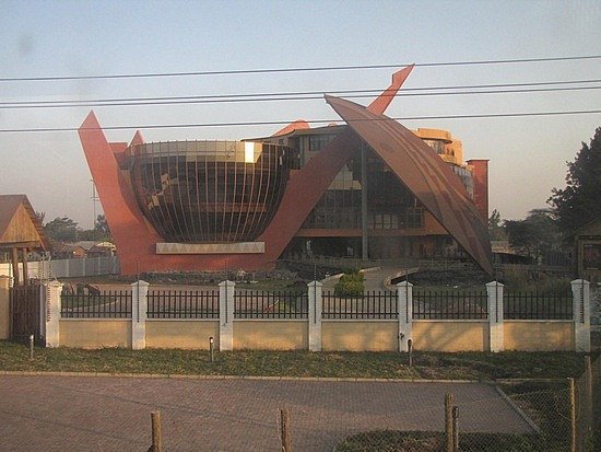 Leaving Arusha - cultural centre