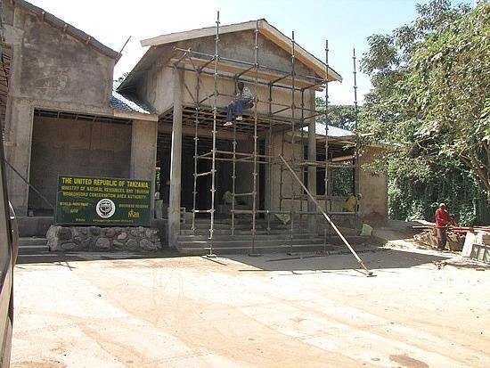 Park visitors centre under reconstruction