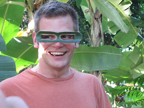 Dave and his sunglasses