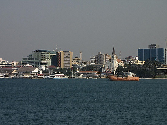 Downtown Dar in the morning