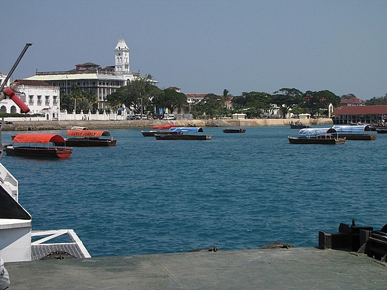Welcome to Stone town & I did not get sea sick :)