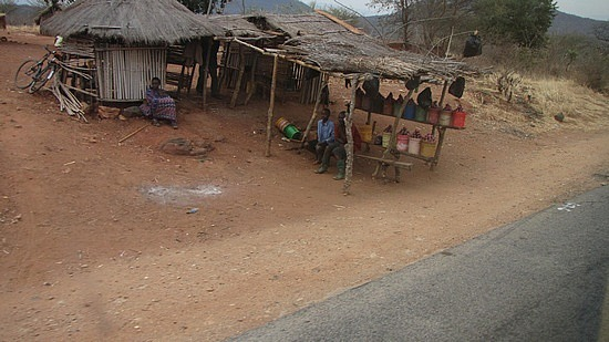 Passing more road side stalls