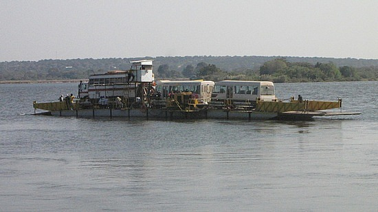 River ferry / border crossing