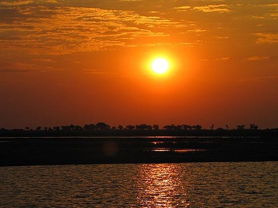 Sun sets again