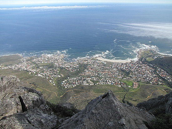 Capetown from Table Mountain