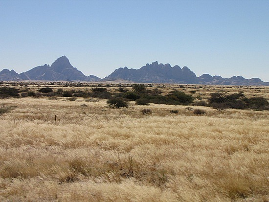 On route to Spitzkoppe