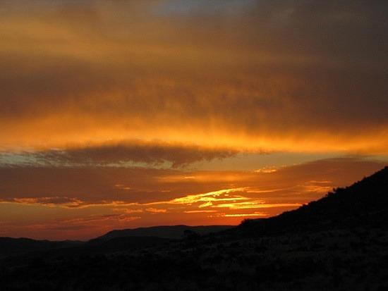 Another sun set