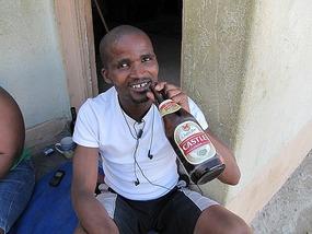 Booze, Swakapund Mondesa township, Namibia.