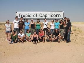 Half way between the equator & South Pole, Namibia