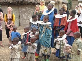 Massai villagers, Tanzania.