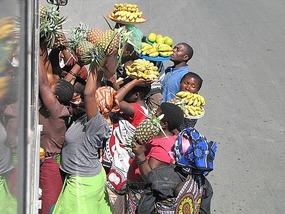 Bananas for anyone? Zambia.