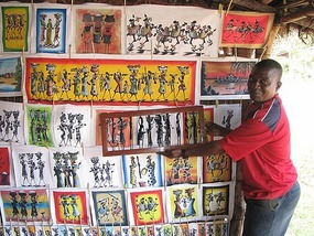 Malawi art and craft.