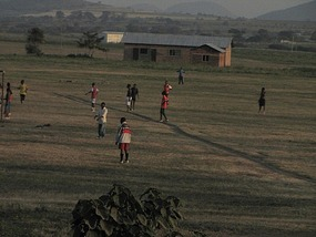 Africans love their soccer