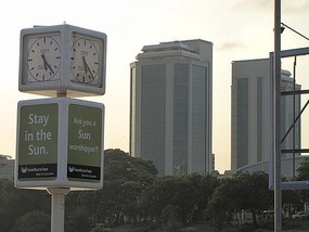 Getting late: long day drive to Dar Es Salaam