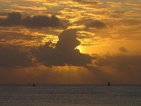 Sunrise at Kipepeo Beach, Dar