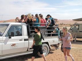Pack em in after desert walk