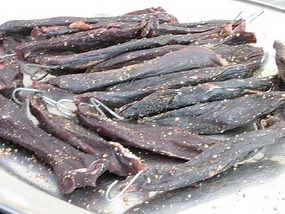 Biltong South African cured or dried meat