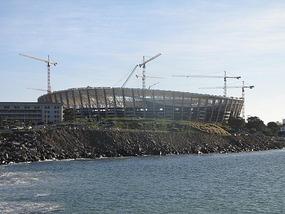 Green Point soccer stadium - World Cup 2010
