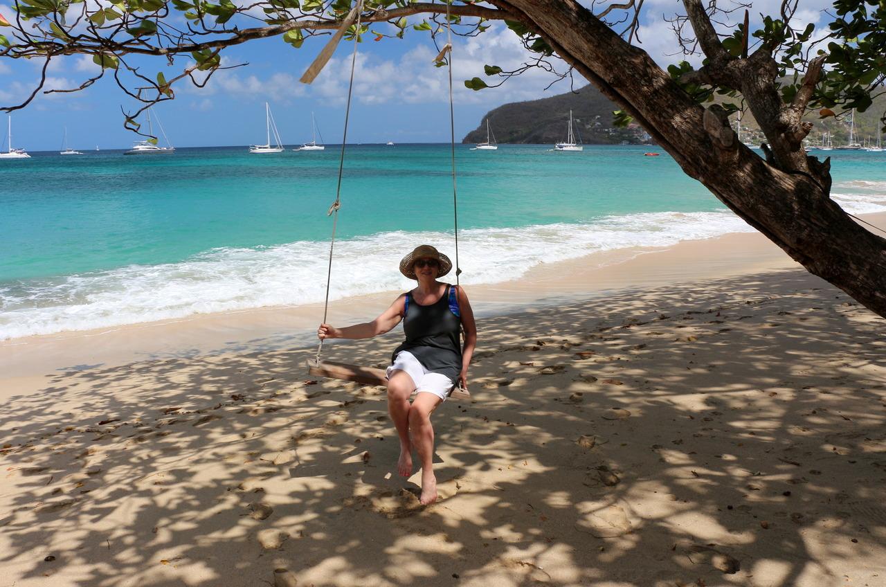 Swinging at Lower Bay
