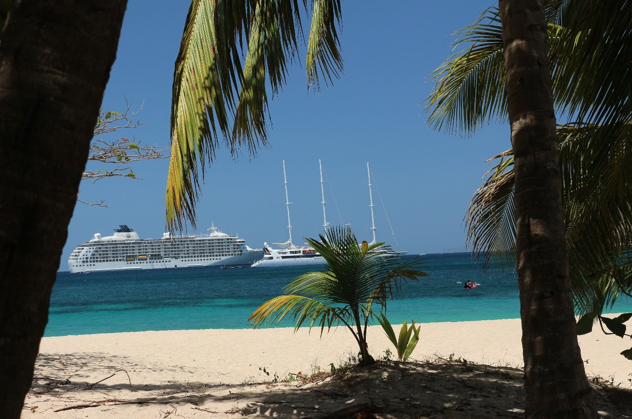 The day 'The World' came to Bequia