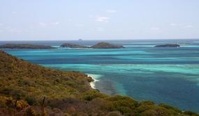 Overlooking Tobago Cays (Mayreau)