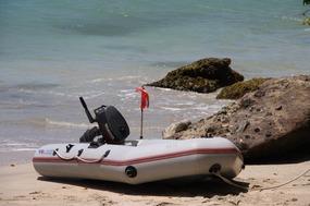 Slik Ricky's 'yacht'